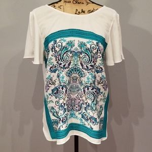 Gorgeous charming charlie boho blouse